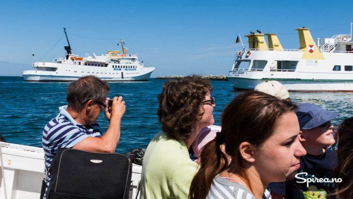 Vi var særdeles heldige med været under vårt besøk på Helgoland.