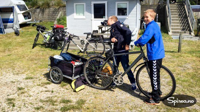 En enkel sykkelvogn er grei å ha med hvis du har endel bagasje. Den er spesielt godt egnet på sykkelturer på asfalt og uten for mange motbakker. I mer ulendt terreng er nok vesker eller sekker lurere, det er tungt å sykle på grusvei med vogn.