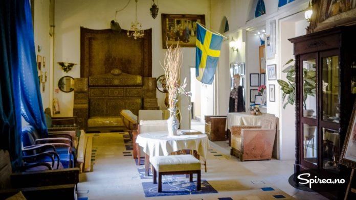 """Den svenske forfatteren Selma Lagerløf bodde på Hotel Imperial da hun skrev sin roman """"Jerusalem"""". Hennes minne er godt tatt vare på."""