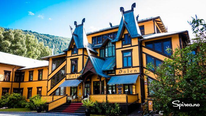 Dalen Hotell ble bygget for å gi et luksuriøst overnattingstilbud til de rike og kongelige.