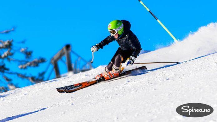 En ung alpinist som ikke er redd for fart og spenning.