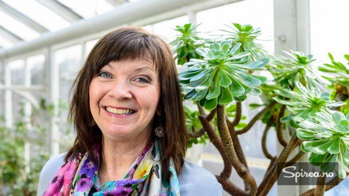 Marit Sagen er leder for Hagemessen på Lillestrøm, som starter fredag 15. april.