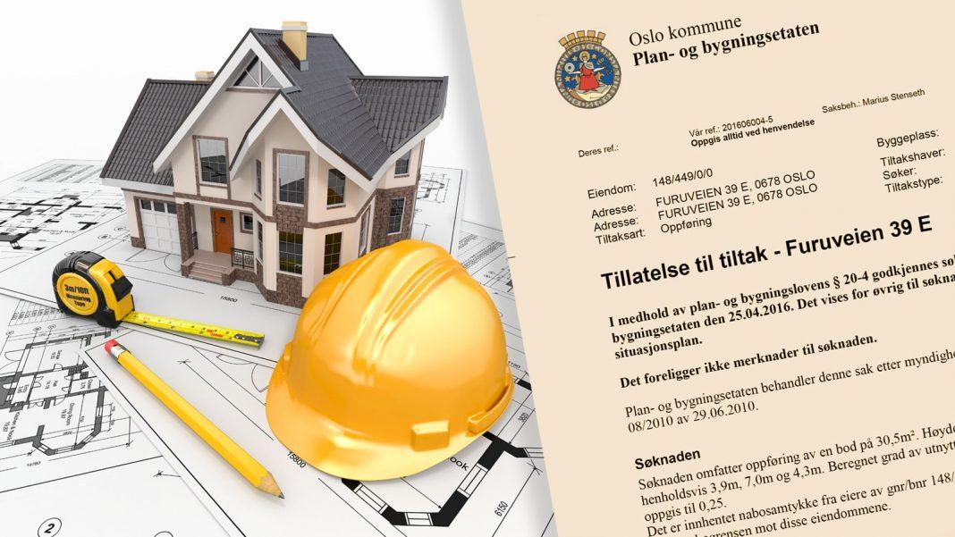 Få innvilget byggesøknad