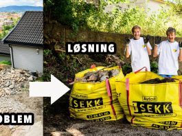 Med iSEKK blir du kvitt tungmasser som stein og betong