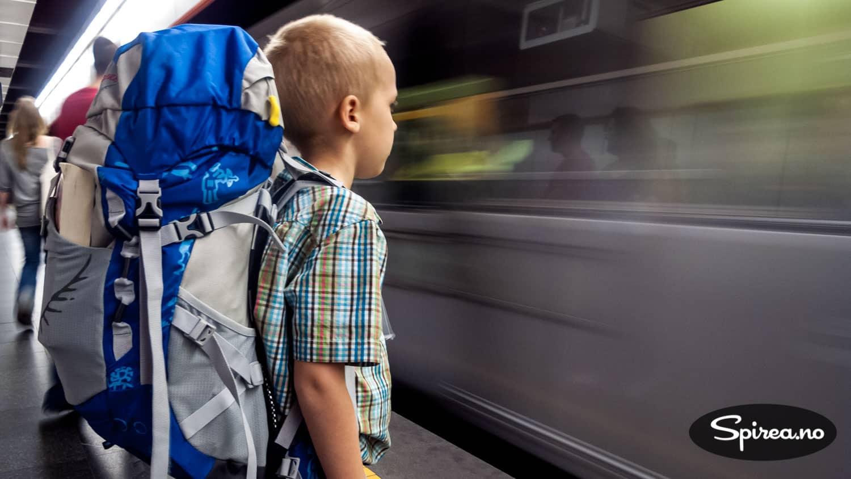 Jernhesten kan ta deg nesten hvor du vil. Å reise med barn på tog er opplevelse du neppe vil glemme.