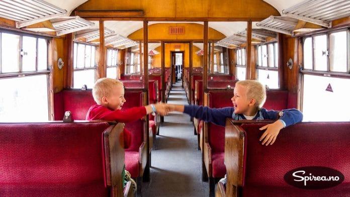 Interrail-billetten gjelder ikke over alt. På private baner som f.eks. Yorkshire Moors Railway (Aidensfield), måtte vi kjøpe vanlige billetter.